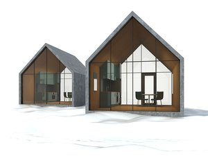 snow house model
