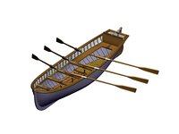 boat yal 3D model