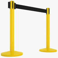 Airport Stanchions 06