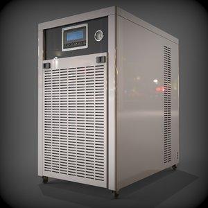 3D chiller cnc machine