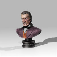 3D vincent price art