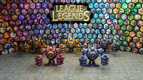 league legends blitzcrank steel 3D