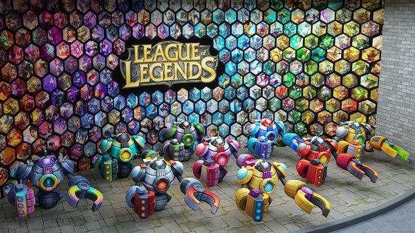 league boss blitzcrank 3D