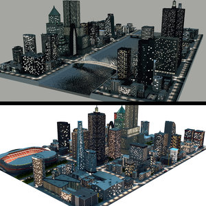 night city 3D