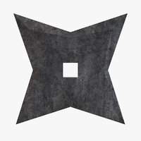 Star Shuriken Throwing Star