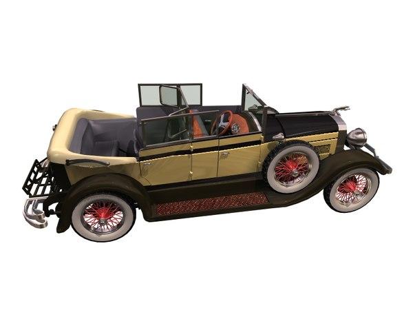3D model car auto