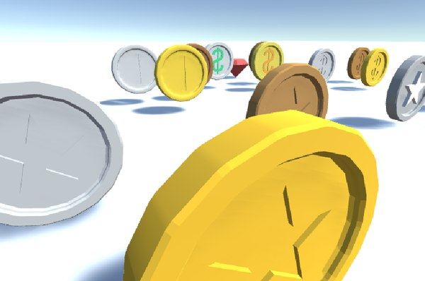 3D coin ruby package model