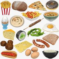 3D food 2 model