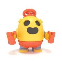 3D brawl star robo spike model