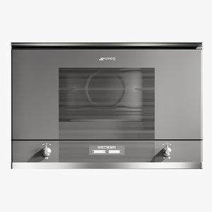 realistic microwave linea 3D model