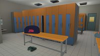Cloackroom - interior and props