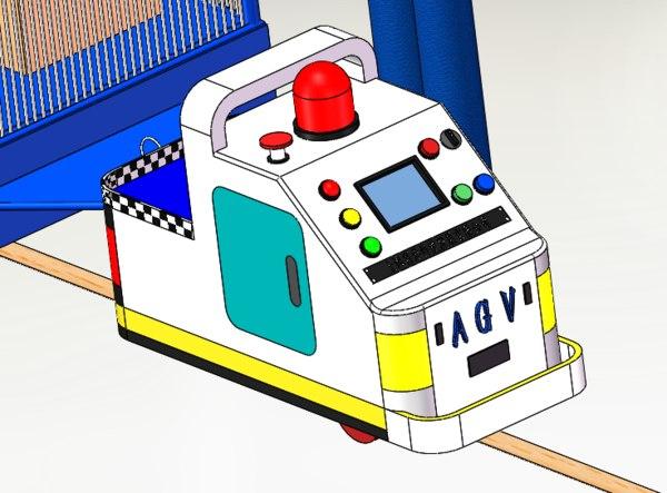3D agv car
