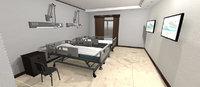Clinic - Hospital room