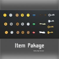 item package coins 3D