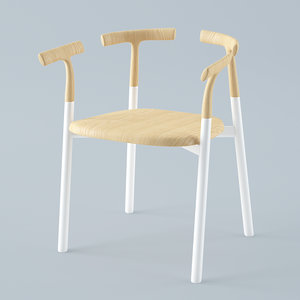 twig 4 chair 3D