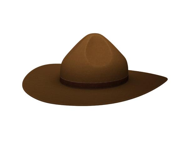 drill sergeant hat model