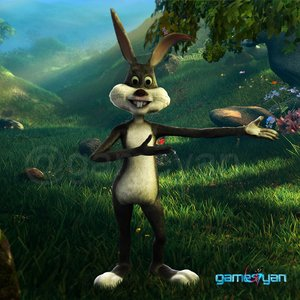 3D Bunny character modeling for short animated film by Post Production Animation Studio
