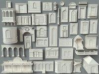 Building Facade Collection-5 - 40 pieces
