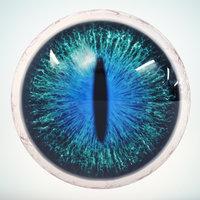 cat eye emerald 3D model