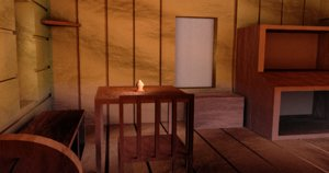 indoors test 3D model