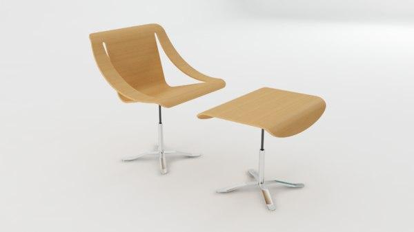 waimea chair 3D model