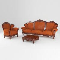 furniture set sofa, armchair
