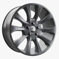audi car wheel rim 3D model