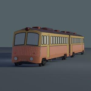 3D train spirited away model