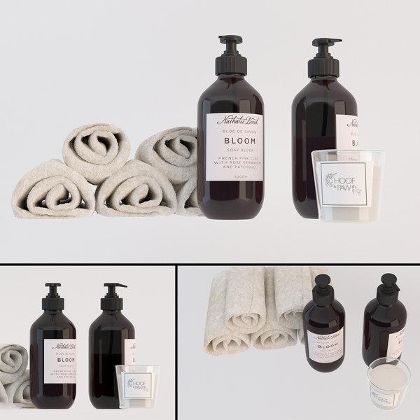 soap liquid 3D model