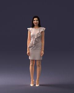 3D fashion woman