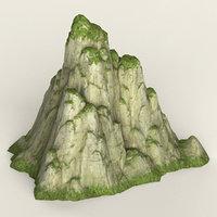 3D ready mountain