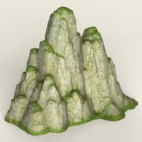 3D ready mountain model