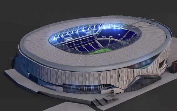 3D model tottenham football stadium