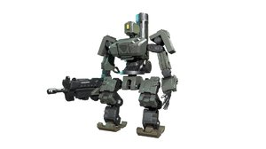 3D bastion robot