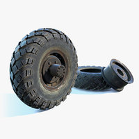 Military Truck Wheel