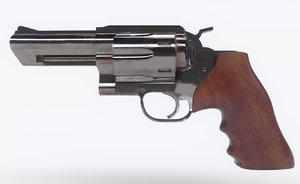 3D ruger revolver