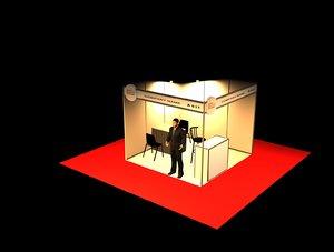 octanorm exhibitions 3D model