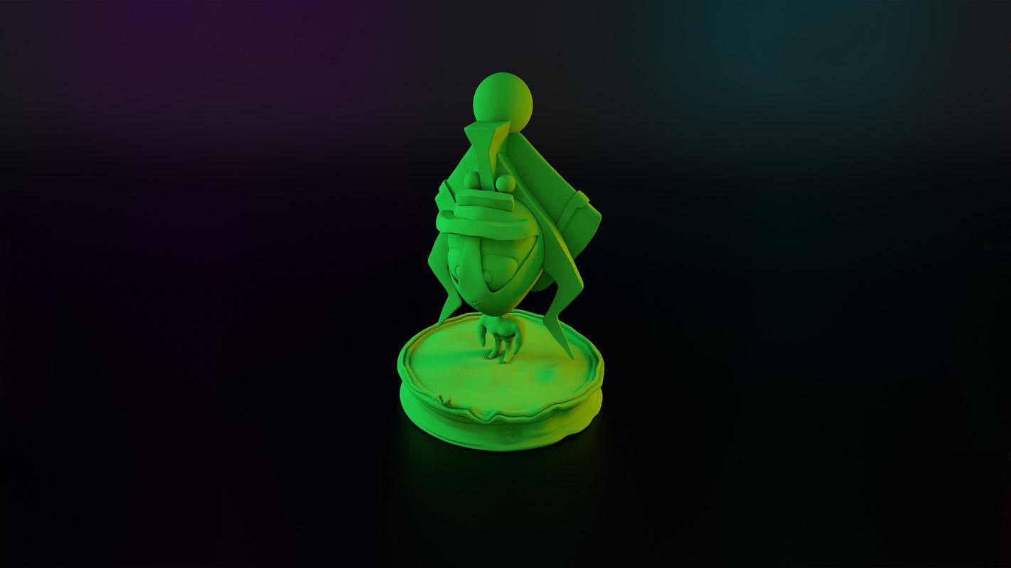 duqugypsien le statue model