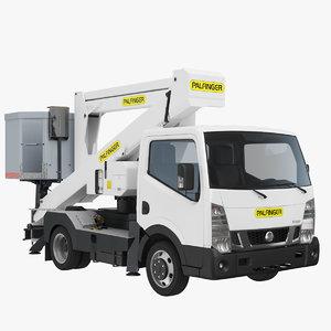 3D truck nissan nt400 cherry