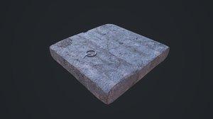 3D trapdoor games asset
