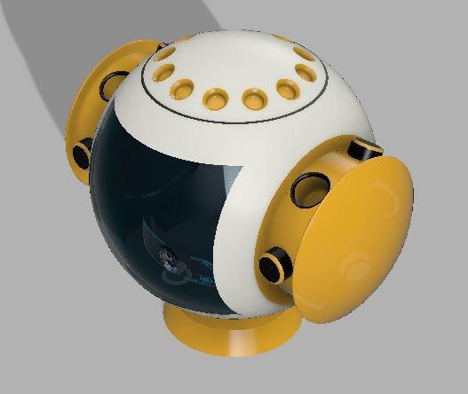 3D sphere fun model