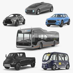 concept cars 3D