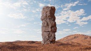 old rock column v1 3D