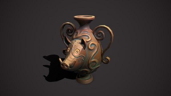 cup boar 3D