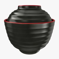 japanese soup bowl 3D model