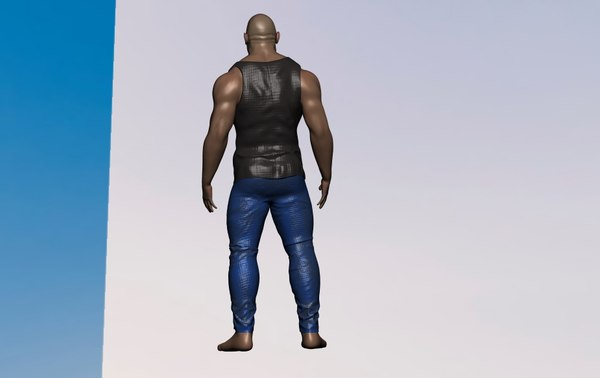 dwayne johnson model