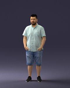 man clothes model