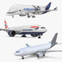 cargo aircrafts air 3D