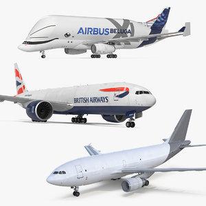 cargo aircrafts air 3D