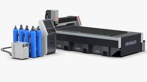 laser metal cutting machine model